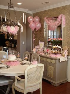 cute 1st birthday party