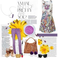 """purple flower"" by dahliafahrian on Polyvore"