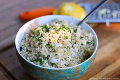 A simple Israeli couscous recipe full of bright lemony flavors and earthy Parmesan cheese.  Perfect for any side dish or as a meal on its own!