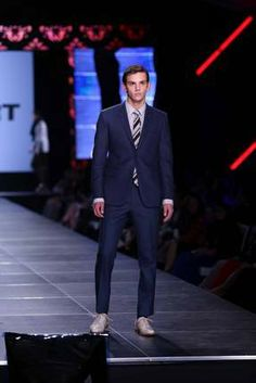 Featured Designer David Hart's runway show at Night Two of Baker Motor Company's Charleston Fashion Week. Love the navy suit! Charleston Style, Night Life, Runway, David, Scene, Entertaining, Suits, Formal, How To Wear