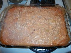 Not Pretty, But Tasty Bake Low fat, carb and cal