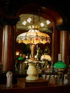 Soda Fountain Tap Stand Lamp