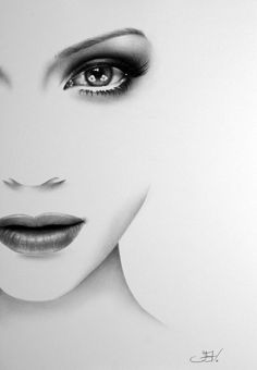 Jennifer Lopez J-Lo Original Pencil Drawing Fine Art Portrait Glamour Beauty