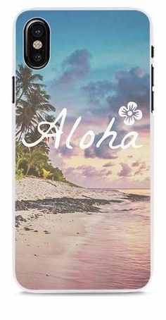 Sandy Beach Sunset Phone Cases for iPhone X / 8 / 7 / 6 / 5 Models – SaviCat