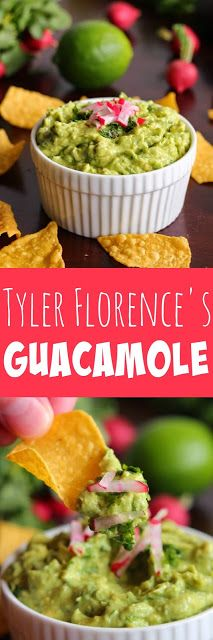 Tyler Florence's Guacamole - This is the recipe that made me LOVE guacamole.