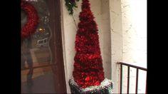 Christmas Tree Ideas - Tinsel Tree
