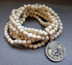 Beaded Bracelet Wood Bead Bracelet Stretch Bracelet by 3bjewels, $59.00