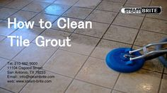 Cleaning tile grout effectively, without damaging the tile or the grout, can be a challenge. #steambrite #portablecarpetcleaningequipment #carpetcleaningequipment www.steam-brite.com