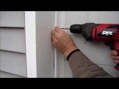 DIY - How to Install Garage Door Weather Seal - Winterize With Garage Door Weather Striping