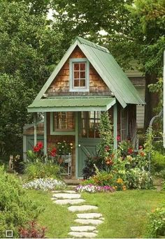 Cabin house plans are typically little and are just one, or maybe one-and-a-half stories tall. Bungalows started in Medieval Europe as lodging for hom. garden shed The Rule for Small Cottage House Plan Ideas