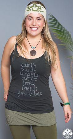 New! Hippie Spirit Organic Cami