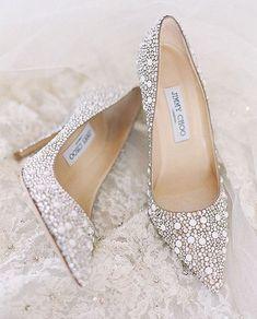 Wedding Shoes High Heels Glitter Wedding Shoes Elegant Jimmy Choo Checkout for Cute Shoes, Me Too Shoes, Princess Shoes, Jimmy Choo Shoes, Dream Shoes, Bridal Shoes, Beautiful Shoes, Gorgeous Heels, Fashion Shoes