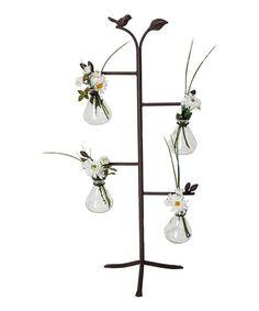 Leaf & Bird Bottle Stand | zulily