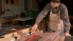 Learn how an adjustable leg tapering jig can easily cut two, three, and four-sided tapers on the tablesaw