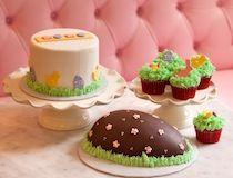 SWEET cupcakes - Easter buffet! Sweet Cupcakes, Easter Cupcakes, Easter Buffet, Baked Goods, Pudding, Sweets, Baking, Desserts, Food
