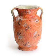 Artist Series Large Orange Vase