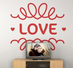 Beautiful sticker for decorate your room! #beautiful #wallstickers #love