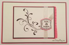 Stampin' Mary: Stampin' Up! Wedding Card