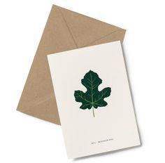 Fint kort fra danske Kartotek.  Dobbelt kort for å skrive på inni. Leveres med konvolutt.