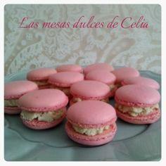 Las mesas dulces de Celia: Mis primeros MACARON