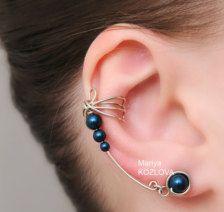 Cuff in Earrings- Etsy