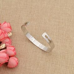Amazon.com: Alloy Kpop Bangle Silver Gold EXO LOVE Bracelet Smooth Mouth Open Jewerly 1 Pc: Jewelry
