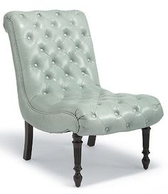 The Margeaux Leather Tufted Chair is both visually appealing and comfortable.