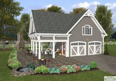 Carriage House Design | Plan #8323: The Charleston Carriage House