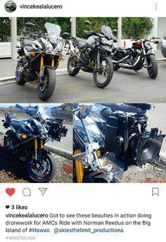 Norman Reedus Ride in Hawaii