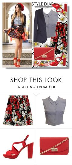 """""""Dolce&Gabbana Skirt"""" by rosely25 ❤ liked on Polyvore featuring Dolce&Gabbana, Chanel, Tamaris, Forever 21 and STELLA McCARTNEY"""
