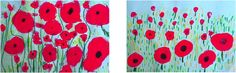Poppies - In Flanders Fields - Elementary Art Lesson for Kids - Remembrance Day