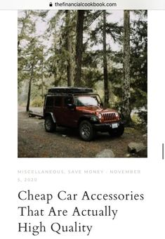 These car accessories are super inexpensive and extremely high quality! I was able to save so much money by going with quality items for less than dealership prices! Car Fix, Cheap Cars, Dashcam, Car Accessories, Saving Money, Auto Accessories, Save My Money, Money Savers, Frugal