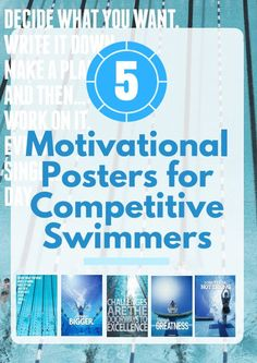 5 Motivational Posters for Competitive Swimmers Swimming World, Usa Swimming, Swim Team Gifts, Swimming Posters, Swimming Motivation, Swim Club, Motivational Posters, Health And Fitness Tips, Swimmers