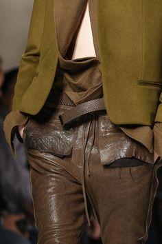 Haider Ackermann (Autumn - Winter 2013/2014, catwalk) - Paris Fashion Week