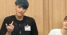Bad Tao hahaha Chen's face