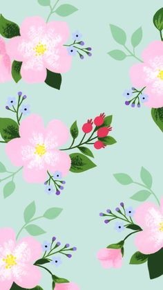 Computer Wallpaper, Cellphone Wallpaper, Screen Wallpaper, Cool Wallpaper, Mobile Wallpaper, Iphone Wallpaper, Vintage Flowers Wallpaper, Flower Wallpaper, Pattern Wallpaper
