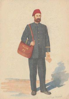 An Ottoman Postman
