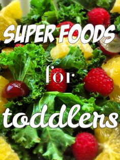 If you have a picky eater here is a list of super foods that he'll like!
