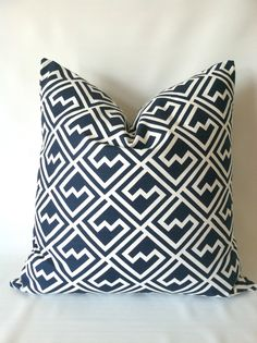 Hey, I found this really awesome Etsy listing at https://www.etsy.com/listing/167723008/navy-pillow-cover-one-24-x-24-navy-blue