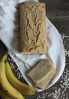 ryżowo-bananowy chleb bezglutenowy | Smakowity Chleb