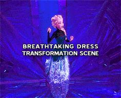 Day 16 - Favourite Outfit - Elsa - Elsa wears such an amazing dress!