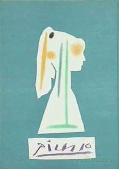 オールポスターズの パブロ・ピカソ「Comédie Humaine : Couverture II」コレクターズプリント