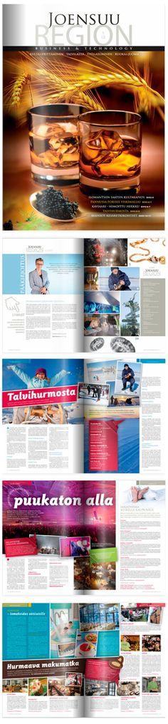 ASIAKASLEHDET JA JULKAISUT; Joensuu Region -lehti    http://www.joensuuregion.fi/