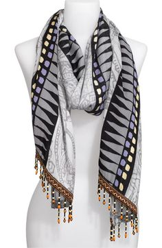 Hinge® 'Faded Paisley' Scarf available at #Nordstrom
