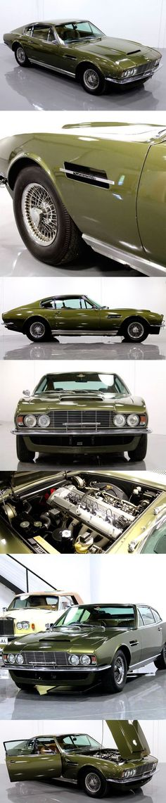Cool Aston Martin 2017 - 1970 Aston Martin DBS Vantage / 325hp 4.0l L6 / William Towns / UK / green / Wil... #astonmartinvintagecars
