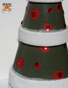 Terra Cotta Pot Christmas Crafts | ... to make one, read on! This isn't a hard craft. You'll love it