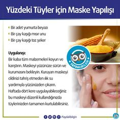 "Natural home remedies for facial hair: 1 piece white part of egg, 1teaspoon corn flour, 1 teaspoon sugar. ""Natural home remedies for facial hair: 1 piece w"