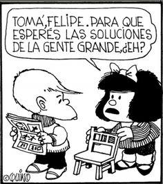 ♡ Que grande Mafalda!!