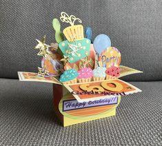 Explosion box birthday
