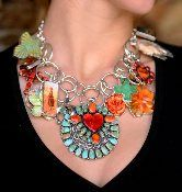 """Christin Miller/Maverick Style pinned, """"One of my favorite Coreen Cordova necklaces!"""" (tell me about it! I am SO addicted to Coreen Cordova - her jewelry has taken over 5 of my jewelry drawers.)"""